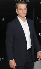 Matt Damon elokuussa 2013.