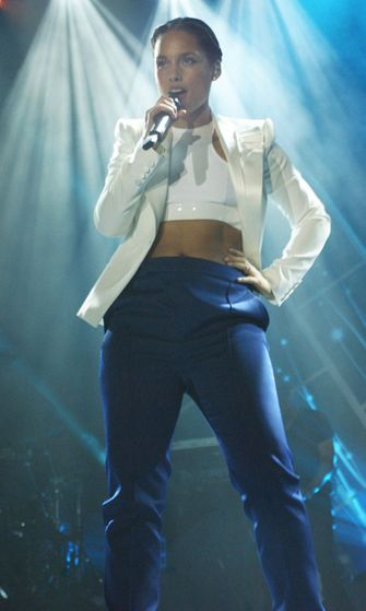Alicia Keys esiintymässä Las Vegasissa tammikuussa 2013.