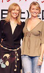 Lainakengissä-kuvaukset, Cameron Diaz ja Toni Collette, 2005