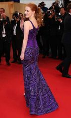 Jessica Chastain, All Is Lost -ensi-ilta,  The 66th Annual Cannes Film Festival