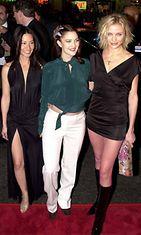 Charlien enkelit elokuvan ensi-ilta, Lucy Liu, Drew Barrymore ja Cameron Diaz, 2000