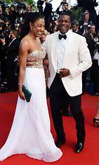 Chris Tucker ja Azja Pryor, 66th Annual Cannes Film Festival 2013