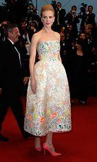 Ensimmäinen ilta Cannesissa! 15.5.2013 Nicole Kidman edusti The Great Gatsby -elokuvan ensi-illassa.