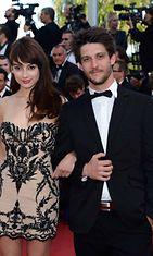 Sophie Desmarais ja Jean-Sebastien Courchesne, Cleopatra-ennakkonäytös, 66th Annual Cannes Film Festival 2013