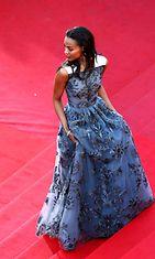 Zoe Saldana Blood Ties -ensi-illassa,  The 66th Annual Cannes Film Festival