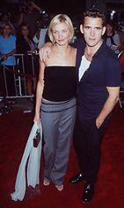 Cameron Diaz ja Matt Dillon, Sekaisin Marista -ensi-ilta 1998