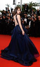 Milla Jovovich All Is Lost -elokuvan ensi-illassa 22.5.2013.