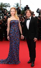 Tuomariston jäsen Nicole Kidman ja Keith Urban Inside Llewyn Davis -ensi-illassa,  The 66th Annual Cannes Film Festival