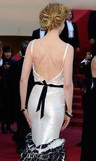 Nicole Kidman Venus In Fur -elokuvan ensi-illassa 25.5.2013.