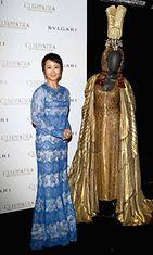 Näyttelijä Zhao Tao Cleopatra-cocktailtilaisuudessa,  The 66th Annual Cannes Film Festival
