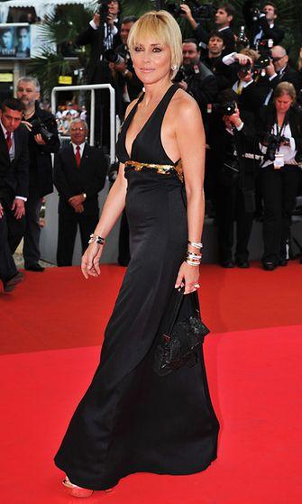 Sharon Stone, Cannes 2008