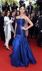 Malli Moran Atias Cleopatra-ensi-illassa,  The 66th Annual Cannes Film Festival