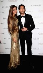Adrien Brody ja Lara Lieto