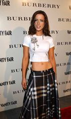 Grand Opening Of Burberry Store In Los Angeles 2001