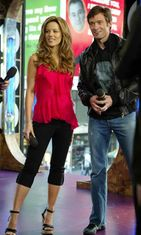 MTV's TRL 2004. Hugh Jackman ja Kate Beckinsale