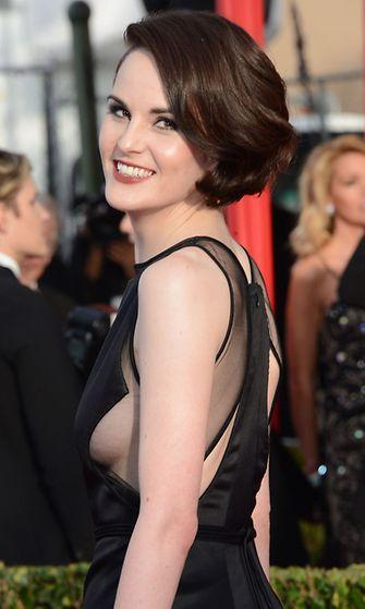 2013: Michelle Dockery Screen Actors Guild Awards -palkintogaalassa.