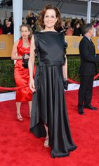 Sigourney Weaver Screen Actors Guild Awards -gaalassa 2013.