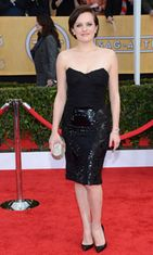 Elisabeth Moss Screen Actors Guild Awards -gaalassa 2013.