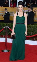 Jessica Pare Screen Actors Guild Awards -gaalassa 2013.