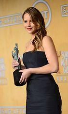 2013: Jennifer Lawrence Screen Actors Guild -gaalassa.