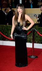 Jenna Ushkowitz Screen Actors Guild Awards -gaalassa 2013.