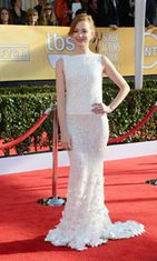Jayma Mays Screen Actors Guild Awards -gaalassa 2013.