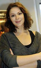 Näyttelijä Pihla Viitala oli paikalla, kun Rööperi-elokuva palkittiin timantti-dvd:llä Helsingissä, 3. marraskuuta 2009. Rööperin dvd-myynti on kivunnut yli 63000 kappaleen.