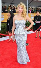 Kelli Garner Screen Actors Guild Awards -gaalassa 2013.