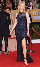 2013: Nicole Kidman SAG-gaalassa.