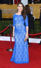 Mayim Bialik Screen Actors Guild Awards -gaalassa 2013.