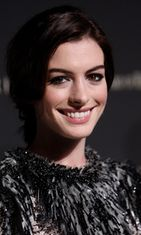 14.1.2008: Anne Hathaway National Board Of Review Awards -gaalassa.