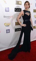 10.1.2013: Jennifer Lawrence Critics' Choice Movie Awards -gaalassa.