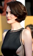 2013: Michelle Dockery Screen Actors Guild Awards -palkintogaalassa.