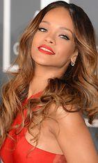 Rihanna helmikuussa 2013.