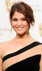 10.2.2013: Gemma Arterton BAFTA-gaalassa Lontoossa.