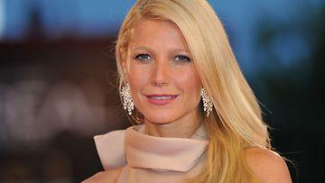 3.9.2011: Näyttelijä Gwyneth Paltrow Venetsian filmifestivaaleissa elokuvansa Tartunta ensi-illassa.