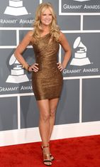 Grammy-gaala 2013 Nancy O'Dell