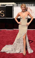 Brandi Glanville (Beverly Hillsin täydelliset naiset) Oscar-gaalassa 2013.
