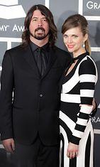 Dave Grohl ja vaimonsa