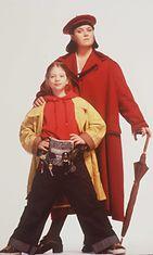 Rosie O'Donnell vuonna 1996, Nickolodeon-elokuvassa 'Harriet the Spy'