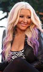 Christina Aguilera vuonna 2012.