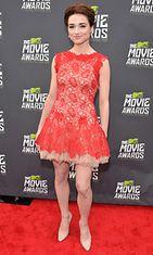 Näyttelijä Crystal Reed