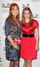 Sarah Ferguson ja prinsessa Beatrice, 2009