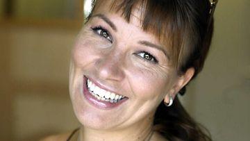 Laulaja Arja Koriseva Tapsan Tahdit tapahtumassa Nokialla 2003