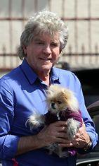 Lisa Vanderpumpin aviomies Ken Todd ja Giggy-koira.