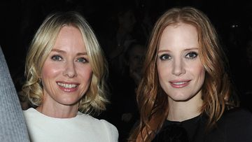 Louis Vuitton Pariisin muotiviikko 2013 Naomi Watts Jessica Chastain