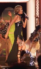 Whitney Houston, 2001, Michael Jackson '30th Anniversary Celebration, The Solo Years'