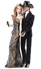 2011: Country-tähdet Faith Hill ja Tim McGraw saivat 15. hääpäiväkseen oman Barbie-pariskunnan.
