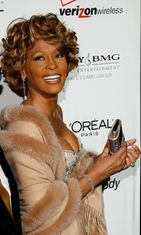 Whitney Houston, 2007,  Clive Davis pre-Grammy party