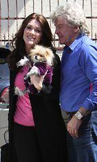 Lisa Vanderpump ja Giggy-koira.